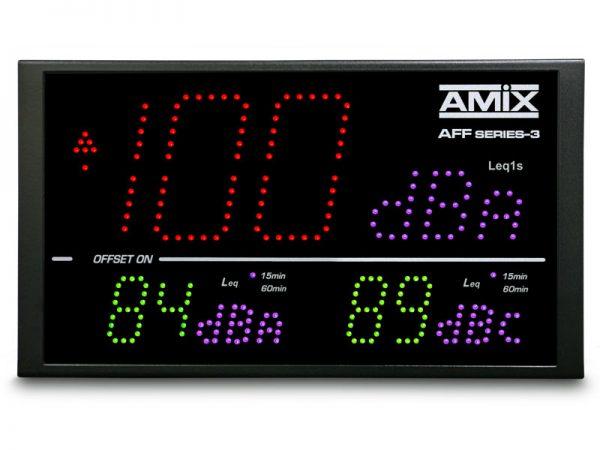 Afficheurs de niveaux sonores AMIX 8